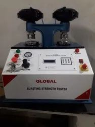 Bursting Strength Tester (Microprocessor Based Type) (Double Head Pneumatic Clamping Model)
