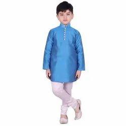 SG Yuvraj Row Silk Party Wear Kurta Churidar Set, Size: 22-36