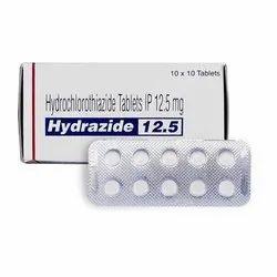 Hydrochlorothiazide Tablet 12.5mg, 25mg