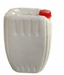White 20 Litre Plastic HDPE Drum, For Chemical Storage
