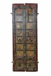 Wooden Painted Door