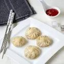 Haryana Chesee Frozen Chilli Cheese Momos, 25 Pieces Per Packet, Packaging Type: Plastic Bag