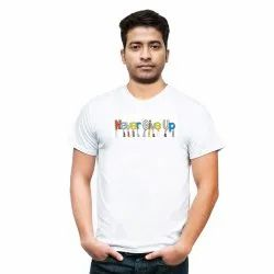 Never Give Up T shirt for Men