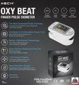 Fingertip Pulse Oximeter, Oxygen Saturation Monitor, Heart Rate Monitor Meter