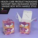 Sanitary Pad Packaging Box