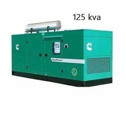 125 KVA Cummins Silent Diesel Generator Set