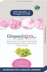 La Nutraceutical Grapovit Q10 Plus Capsule (with advance co enzymes)