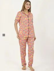 Ladies Night Suits, Shirt and lower
