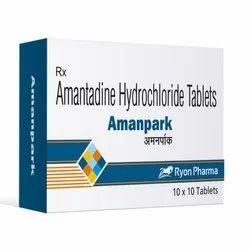 100 Mg Amantadine Tablet, 10x10, Treatment: Allopathic