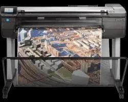 Colored HP DesignJet T830 36-In Multifunction Printer