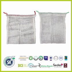 Cotton Jute Mesh Bag