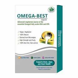 La Nutraceuticals Omega Best (Veg Omega 3) - Advance vegetarian Source of Omega 3 Fatty Acids-