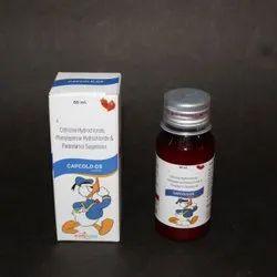 Cetirizine Hydrochloride Phenylephrine Hydrochloride and Paracetamol Suspension