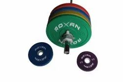 Roxan Rubber Olympic Weightlifting Bumper Plates
