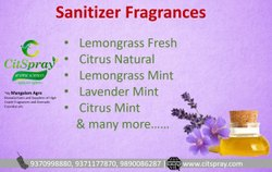 Lemongrass  Fragrance For Sanitizer