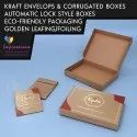 Kraft Boxes With Hot Foiling