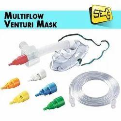 Multiflow Venturi Oxygen Mask Hudson