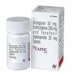 Taffic (Tenofovir Alafenamide + Bictegravir + Emtricitabine)