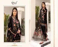 Rinaz Adan Libas Vol 2 Cambric Cotton Pakistani Dress Materials