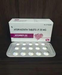 Atorvastatin 20 Mg Tablets