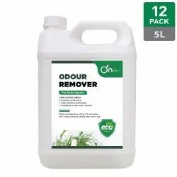 On Liquid 12 Pack Of 5 Litre Odour Remover, Packaging Type: Can