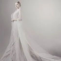 Bridal Dress with pearl embroidery