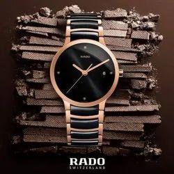 Round Luxury(Premium) Rado Men Watch Jubilee, For Personal Use