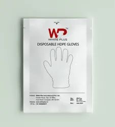 White Plus Disposable Plastic Gloves (Pack of 200)