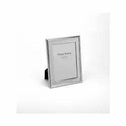 Beads & Spiral Design Silver Photo Frame, Size-5X7