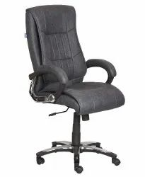 High Back Leatherette Office Chair Black (VJ-2038)