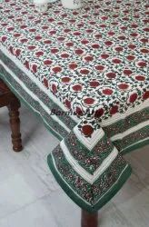 Hand Block Printed Table Cover