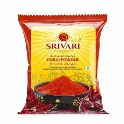 Srivari Red Chilli Powder, 500g, Packets