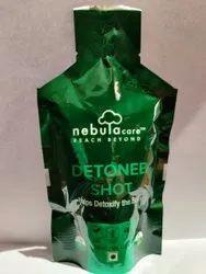 Shape pouch for liquid