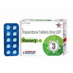 3 mg Risperidone Tablets