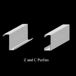 Hot Rolled Galvanized Metal Z Purlin