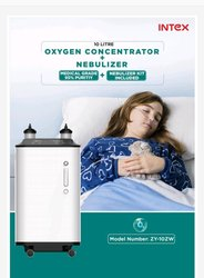 INTEX MAKE OXYGEN CONCENTRATOR WITH NEBULIZER