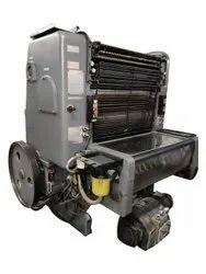 Mild Steel 1 Heidelberg GTP Platen Offset Printing Machine