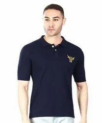 Mens Blue Color T Shirt