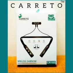 CARRETO CR-105 Wireless Sport Neckband Earphone 25 Hours Headset Jagidar 2