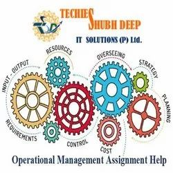 1 To 4 Weeks 8 Hours Operational Management Assignment Help, Communication Language: English And Hindi