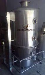 Fluid Bed Dryer Batch Process Pharmaceutical Granulation Equipment