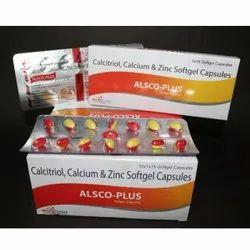 Calcitriol Calcium and Zinc Softgel Capsules