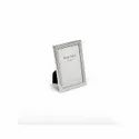 Knitted Design Silver Photo Frame, Size-4X6