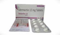 Delactin-12 Ivermectin 12mg Tablets