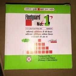 Fleetguard Diesel Filters- 8260270, 8260269, 1.1 Ltr , 0.5 Ltr, Bosch Diesel Filter