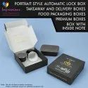 Automatic Style Food Packaging Box