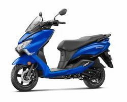 Blue Suzuki Burgman Street Scooter