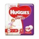 Cotton Huggies Wonder Pant Xxl 24, Age Group: 2-3 Years