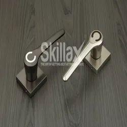 Skillax Zinc Mortise Handle Set, For Home