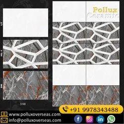 ceramic 300x600 mm Glossy Digital Wall Tiles, Size: 30  * 60 (cm)